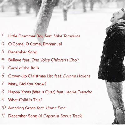 My Grownup Christmas List Lyrics.Peter Hollens Jackie Evancho Lyrics Happy Xmas War Is